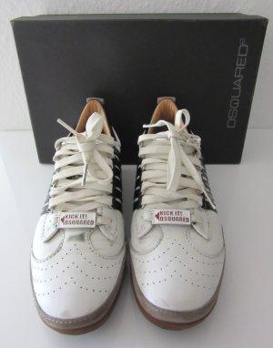 Dsquared Sneaker Gr. 38 weiss/schwarz Logo