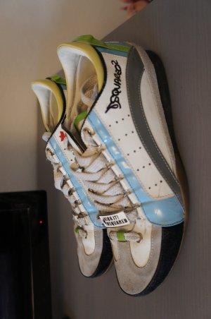 DSQUARED Sneaker Größe 37 leder