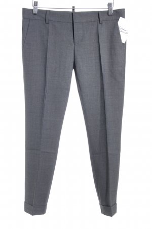 Dsquared2 Bundfaltenhose grau Business-Look