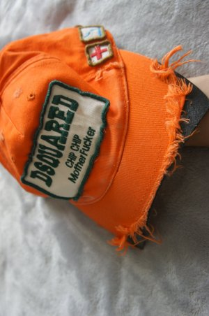Dsquared2 Cap neon orange
