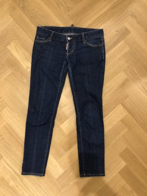 Dsquared2 Low Rise jeans donkerblauw