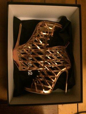 Dsquared2 High-Heels, Gr. 37, Rosé-Gold