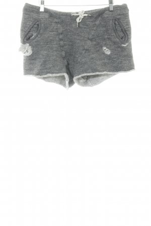 Dsquared2 Hot Pants grau Destroy-Optik