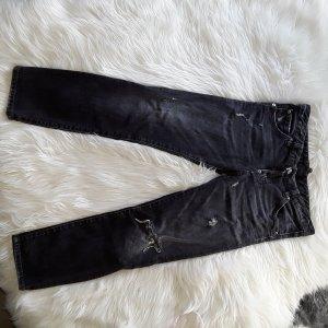 Dsquared2 Jeans a 7/8 nero-grigio scuro
