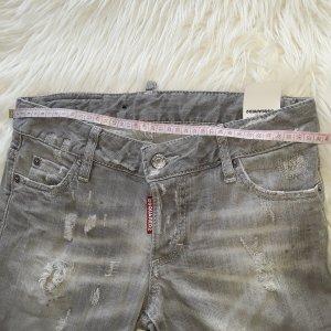 Dsquared2 jeans grau damaged ital.gr. 36