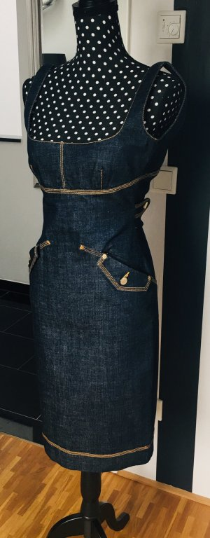 Dsquared2 Denim Dress dark blue