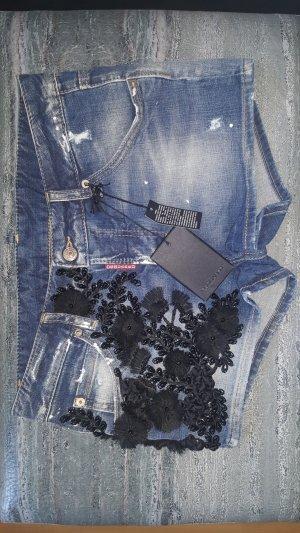 Dsquared2  Jeans Pants Damen Luxus Hotpants Hose Gr.S