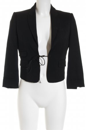Dsquared2 Kurz-Blazer schwarz Business-Look