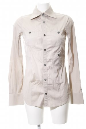 Dsquared2 Langarm-Bluse creme Business-Look