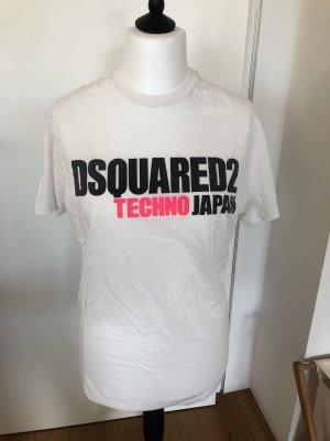 Dsquared2 Print Shirt white