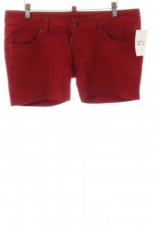 Dsquared2 Shorts rot Street-Fashion-Look