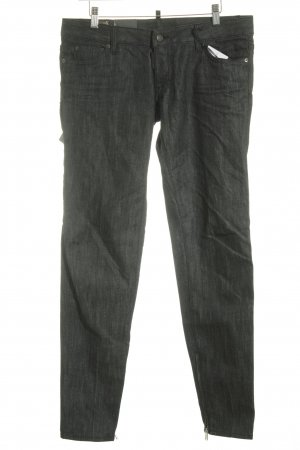 Dsquared2 Skinny Jeans anthrazit meliert Casual-Look