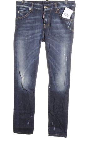 Dsquared2 Slim Jeans blau Casual-Look