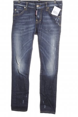 Dsquared2 Slim Jeans blau Casual-Look