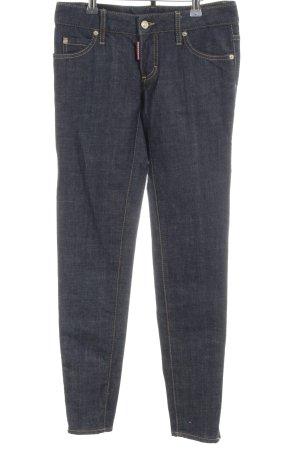 Dsquared2 Slim Jeans blau meliert Casual-Look
