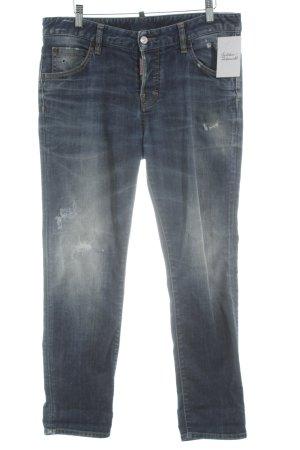 Dsquared2 Slim Jeans stahlblau Casual-Look