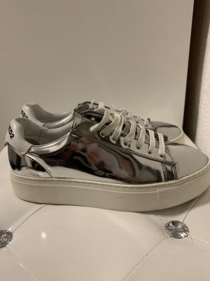 Dsquared2 Lace-Up Sneaker silver-colored
