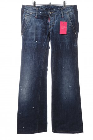 Dsquared2 Straight-Leg Jeans blau Business-Look