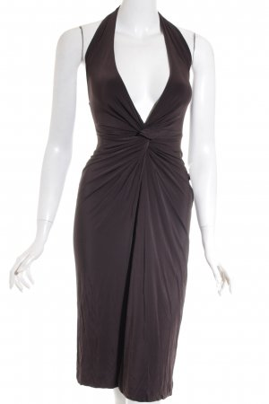 Dsquared2 Stretchkleid dunkelbraun Party-Look