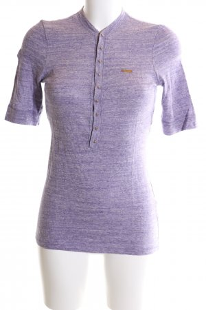 Dsquared2 Strickshirt lila Allover-Druck Casual-Look