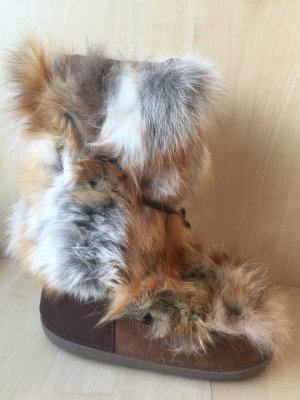 Dsquared2 Fur Boots multicolored