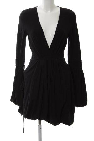 Dsquared2 Wollkleid schwarz Elegant