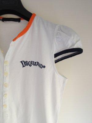 Dsqured2 T-Shirt mit Puffärmeln