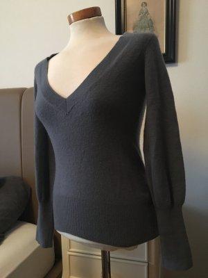 DTLM 100% Kaschmir S grau Pullover xs