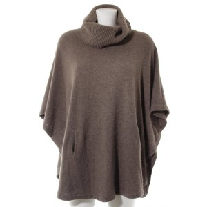 dtLm Don't Label me Poncho graubraun Casual-Look