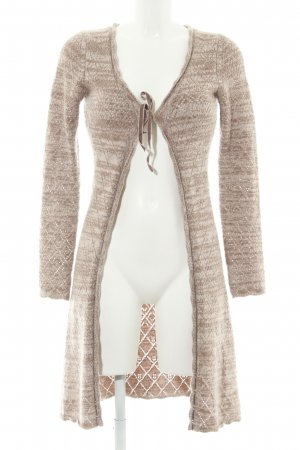 dtLm Don't Label me Strick Cardigan creme meliert Casual-Look