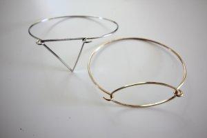 H&M Braccialetto argento-oro