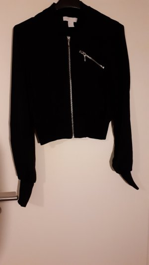 H&M Bomber Jacket black
