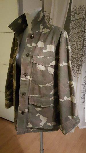 Dünne Camouflage Jacke (Gr.L-XL)