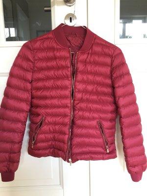 Massimo Dutti Down Jacket raspberry-red