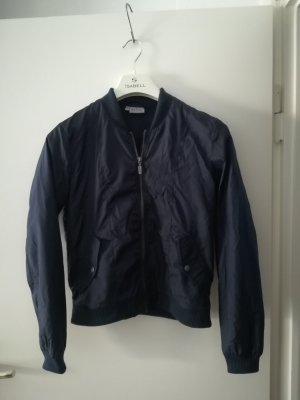 Blue Motion Short Jacket dark blue
