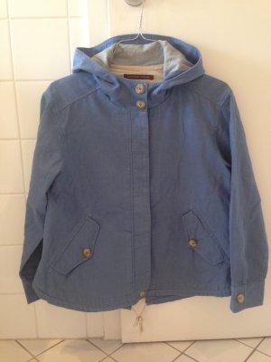 Comptoir des Cotonniers Between-Seasons Jacket cornflower blue cotton