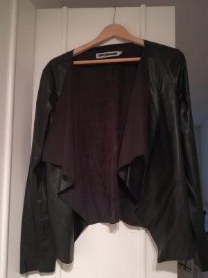 Noisy May Veste noir faux cuir