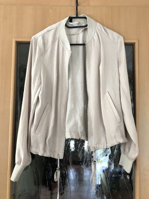 H&M Bomber Jacket natural white-beige