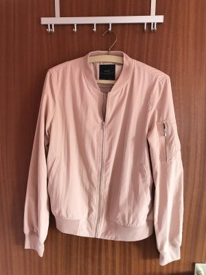 Zara Basic Blousejack stoffig roze