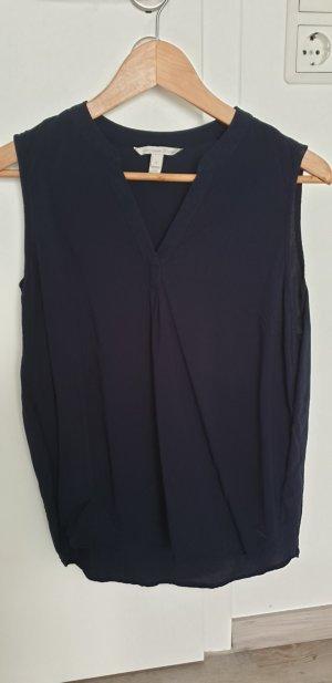Dünne Kurzarm Bluse von Tom Tailor Denim Gr. M