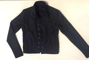 Dünne kurze Jacke Blazer XS 32 schwarz
