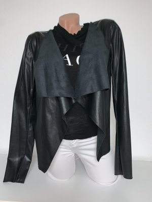 Noisy May Leather Blazer black