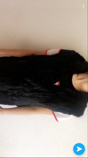 Zara Bontgilet zwart