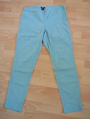 dünne mint-farbene Jeans H&M