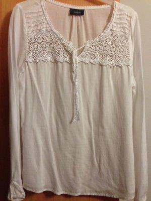 dünne Sommer Bluse mit Zier