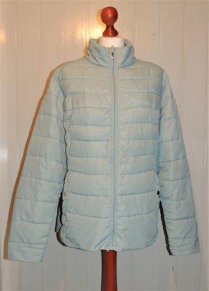 Veste matelassée bleu pâle polyester