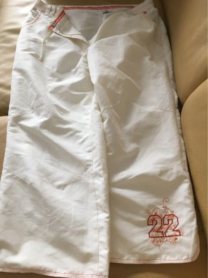 7/8 Length Trousers white