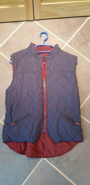 Cavallo Vest donkerrood-donkerblauw