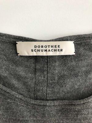 Dünner grauer Woll-Pullover von Dorothee Schumacher, Größe 40,