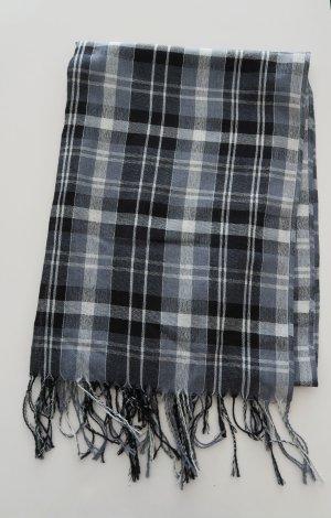 dünner großer Schal Tuch kariert